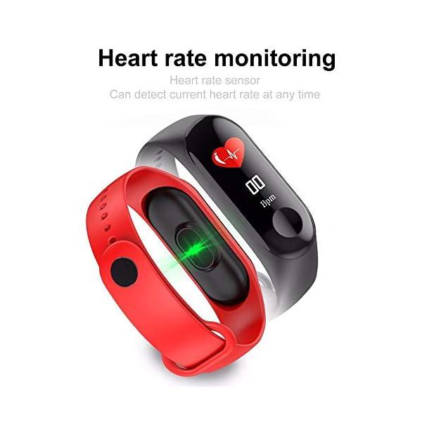 Smartwatch M3 Plus Heart Rate Fitness Tracker SmartBand OLED Smart Wrist Sports Pulsera Pantalla Colorida 9