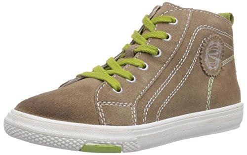 Richter Kinderschuhe Mose 6242-521, Jungen Hohe Sneakers, Braun (sand/frog 0701), 36 EU