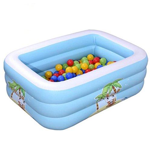 OOFWY baignoire gonflable environnement et élégant enfant gonflable bain piscine gonflable Thicken Isolation bébé Piscine bain en plastique Fold bain océan Ball Pool Pataugeoire Terrain de jeux d'eau , B