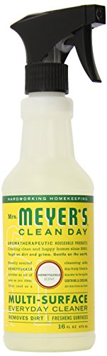 Mrs. Meyer%27s Clean Day Mrs MeyerS Multi Surface Spray Cleaner Honeysuckle 16 Fluid Ounce