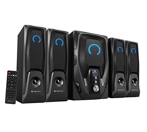 Zebronics Mambo-BT RUCF 4.1 Stylish Multimedia Speaker (Black)