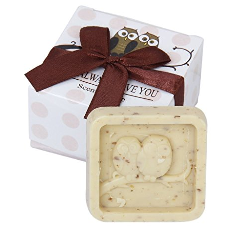 Wedding Soap Gift - SODIAL(R)Wedding Favors Owl Always Love You Scented Soap Gift
