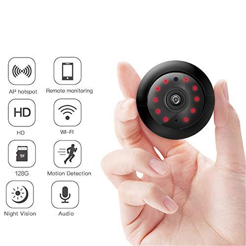 IP-Kamera WiFi Mini HD 720P Indoor-Fabel-Sicherheitskamera mit Bewegungserkennung und Fernmelder (Outdoor Hd-webcam)