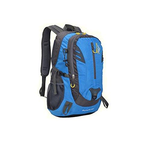 Wmshpeds Outdoor escursione di alpinismo in borsa gli uomini e le donne di viaggio di equitazione campeggio borsa a tracolla impermeabile zaino sportivo 40L B