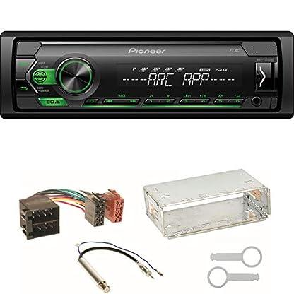Pioneer-MVH-S120UBG-MP3-USB-FLAC-Autoradio-AUX-WMA-WAV-Einbauset-kompatibel-mit-Skoda-Octavia-1U-Superb-1