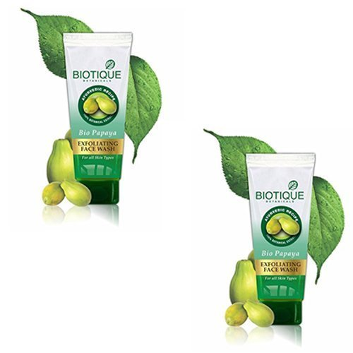 Biotique Bio Papaya Face Wash (100ML, Pack of 2)