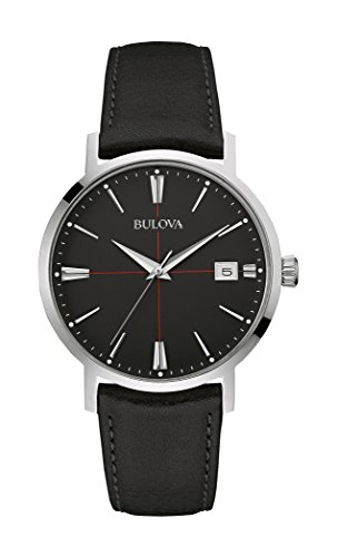 bulova-mens-designer-watch-leather-strap-black-classic-aerojet-wrist-watch-96b243