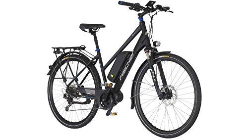 FISCHER FAHRRAEDER E-Bike Trekking Damen ETD1607, 28 Zoll, 9 Gang, Mittelmotor, 504 Wh 71,12 cm (28 Zoll)