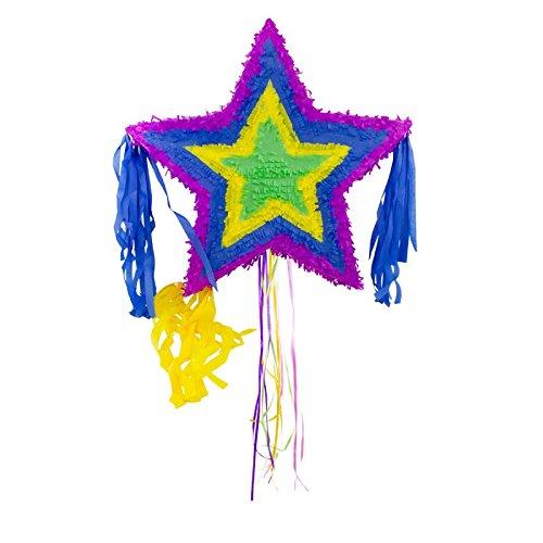 Pinata étoile ca. 57x57 cm coloré 8714572609272