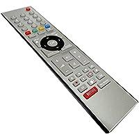 AERZETIX: Mando a distancia para televisor TV compatible con TS1187R Netflix C40131