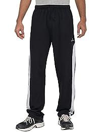 Comfort Plus Men's Casual Track Pant ( Black )