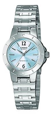 Casio LTP-1177PA-2A - Reloj de cuarzo para mujer, con correa de acero inoxidable, color plateado