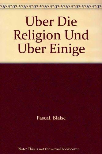 Über die Religion und über einige andere Gegenstände
