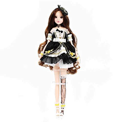 MEMIND Bjd Nach Maß Puppe 30 cm Anime Puppe Zwölf Konstellationen Stier Mädchen Anzug Geburtstagsgeschenk Prinzessin Ausländische Puppe (Doll Barbie Makeup Halloween)