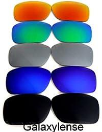 Galaxie Verres De Rechange Pour Oakley Turbine noir   bleu   gris   vert    rouge e1ae503c3dd5