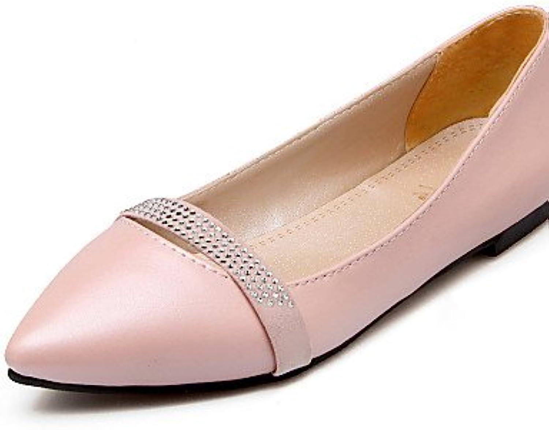 ZQ Zapatos de mujer - Tac¨®n Plano - Comfort / Puntiagudos - Planos - Exterior / Oficina y Trabajo / Vestido -...