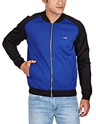 United Colors of Benetton Mens Synthetic Jacket (8903975037267_15A2FS1C7007I90146_small_Blue)