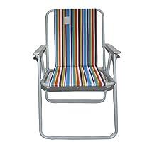 كرسي رحلات و تخييم قابل للطي مع مسند ذراع Al005/E-الوان متعددة