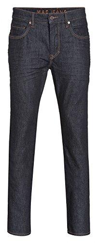 MAC Herren Straight Leg Jeanshose Arne Pipe blau (dark authentic wash H712)