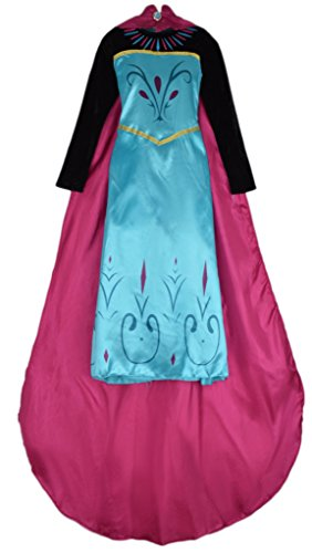 Imagen de eyekepper vestido disfraz disney animacion frozen princesa elsa