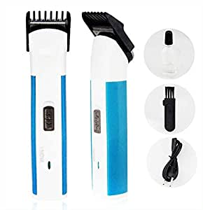 Nova Hair Trimmer Rechargeable can use ordinary AA battery IN EMERGENCY