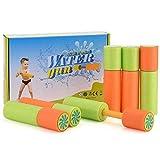 AISIGE Mini Super Soaker Schaum Tasche Wasserpistolen Spielzeug, lustige Wasser Blaster Eliminator, Sommer Schwimmbad & Strand Wasserpistole Shooter für Kinder 6 Pack