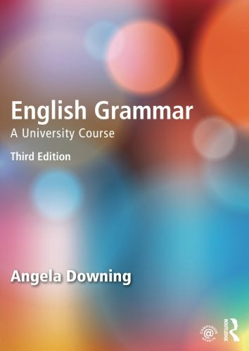 English Grammar: A University Course