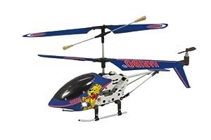 Jamara 30340 Haribo® - Mini-helicóptero radio control con luz (control remoto con 3 canales, cargador integrado) importado de Alemania