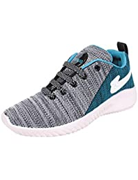 SKYMATE Blue Lite Weight Sport Shoes for Boys(7yrs-15yrs)