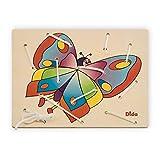 Dida - Allacciatura Farfalla - Il gioco dei lacci per sviluppare la manualità dei bambini - attività Montessori