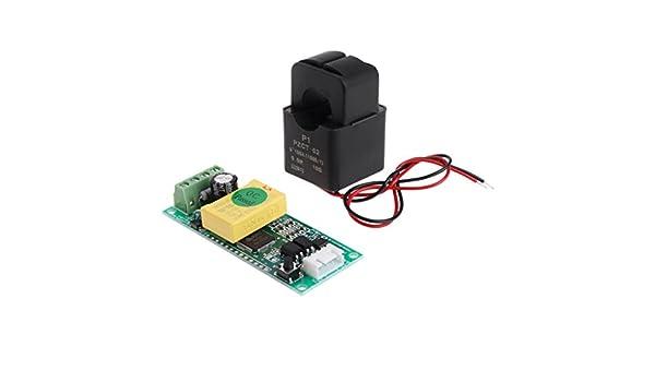Split-Core-Transformator BIlinli PZEM-004T Stromspannungs-Multimeter-Modul 80-260V 100A