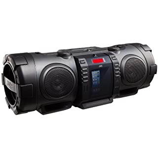 JVC RV-NB75B Powered Woofer CD System – black
