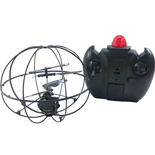 Galleria fotografica 2ch giroscopio telecomando UFO disco volante elicottero RC aeromodelli volo palla bambini giocattoli per bambini