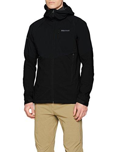Marmot Herren ROM Jacket Softshelljacke Funktions Outdoor Jacke, Black, L
