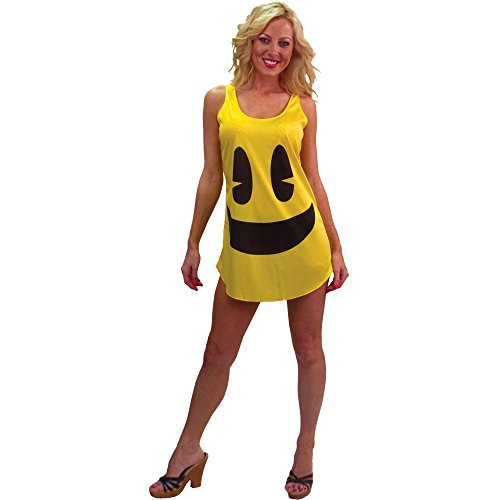 Pac-Man Deluxe Costume Tank Costume Dress Adult/Teen - Incogneato Kostüm