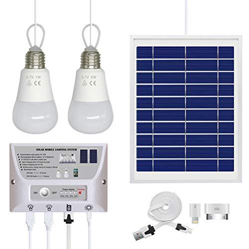 El panel de carga solar al aire libre y la fuente de energía solar móvil son un sistema completo de iluminación exterior que convierte la energía solar directamente en energía eléctrica. El panel solar plegable es impermeable. No tiene que pr...