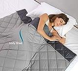 YGJT Gewichtete Decke Erwachsene Kinder und Abnehmbarer Bezug 100% Baumwolle 48'X72 60'X80 Weiche,...