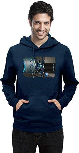 Portal 2 Robot Team Mann Hoodie X-Large
