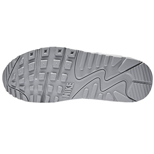 Nike Air Max 90 Mesh (GS) Women Schuhe white-metallic siver-lakeside-artisan teal – 38 - 2