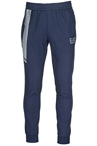 Emporio Armani EA7 Herren Hosen Jumpsuit Trainingsanzug blu EU M (UK 32) 3ZPP75PJ05Z1554