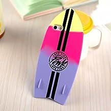 Fundas y estuches para teléfonos móviles, Un caso suave modelado tabla de surf para el iphone 5 / 5s (colores surtidos) ( Color : Púrpula , Modelos Compatibles : IPhone 6s Plus/6 Plus )