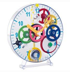 Monsterzeug Kinder Pendeluhr, Bausatz Uhr 30-teilig, Pendeluhr Selber Bauen, Pendeluhr selbstbau, Uhrenbausatz Mechanisch, Kindergeschenk, Kindergeburtstag