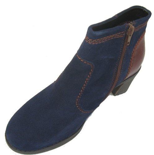 Ara 22-63947 Madrid_ST femme bottes largeur G Bleu