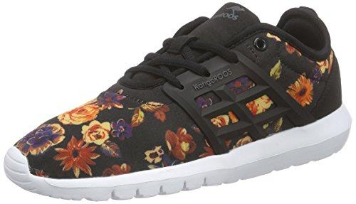 KangaROOS K-x 8203 Damen Sneakers Mehrfarbig (rose flower 641)
