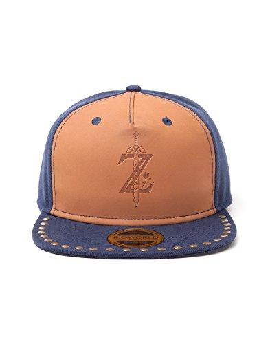 Zelda fedsb480816zel–Breath of the Wild Logo Snapback Cap One Size