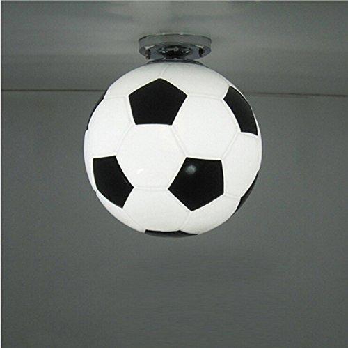 AMZH Fußball Deckenleuchte Kreative Kinder Zimmer LED Deckenleuchten 110V 220V Durchmesser 25cm