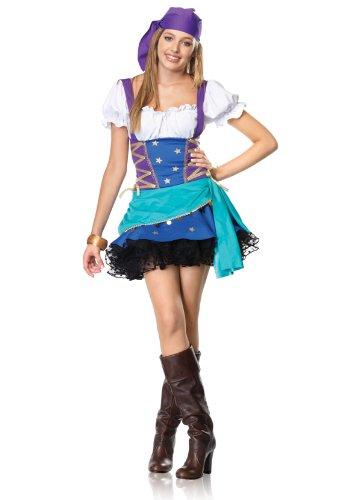 Leg Avenue J48018 - Junior Zigeunerin Prinzessin Kostüm Set, Größe S/M, (Halloween Junior Prinzessin Kostüme)