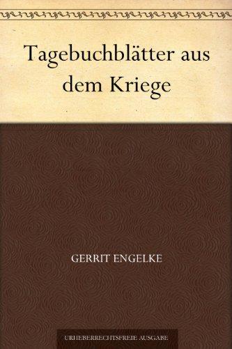 Tagebuchblätter aus dem Kriege