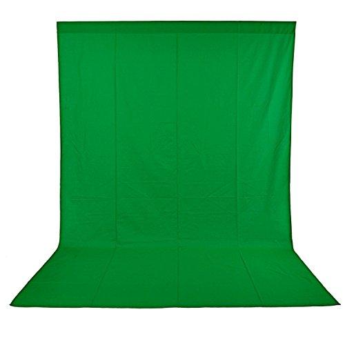 Ruili 2 x 3m Fotostudio Set Hintergrund ständer Hintergrundsystem Kit mit Tragetasche Backdrop Stand für Muslins Hintergrund, Papier and...