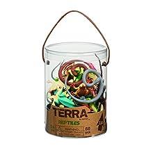 Terra by Battat AN6039Z rettili giocattolo in un tubo (pezzi)